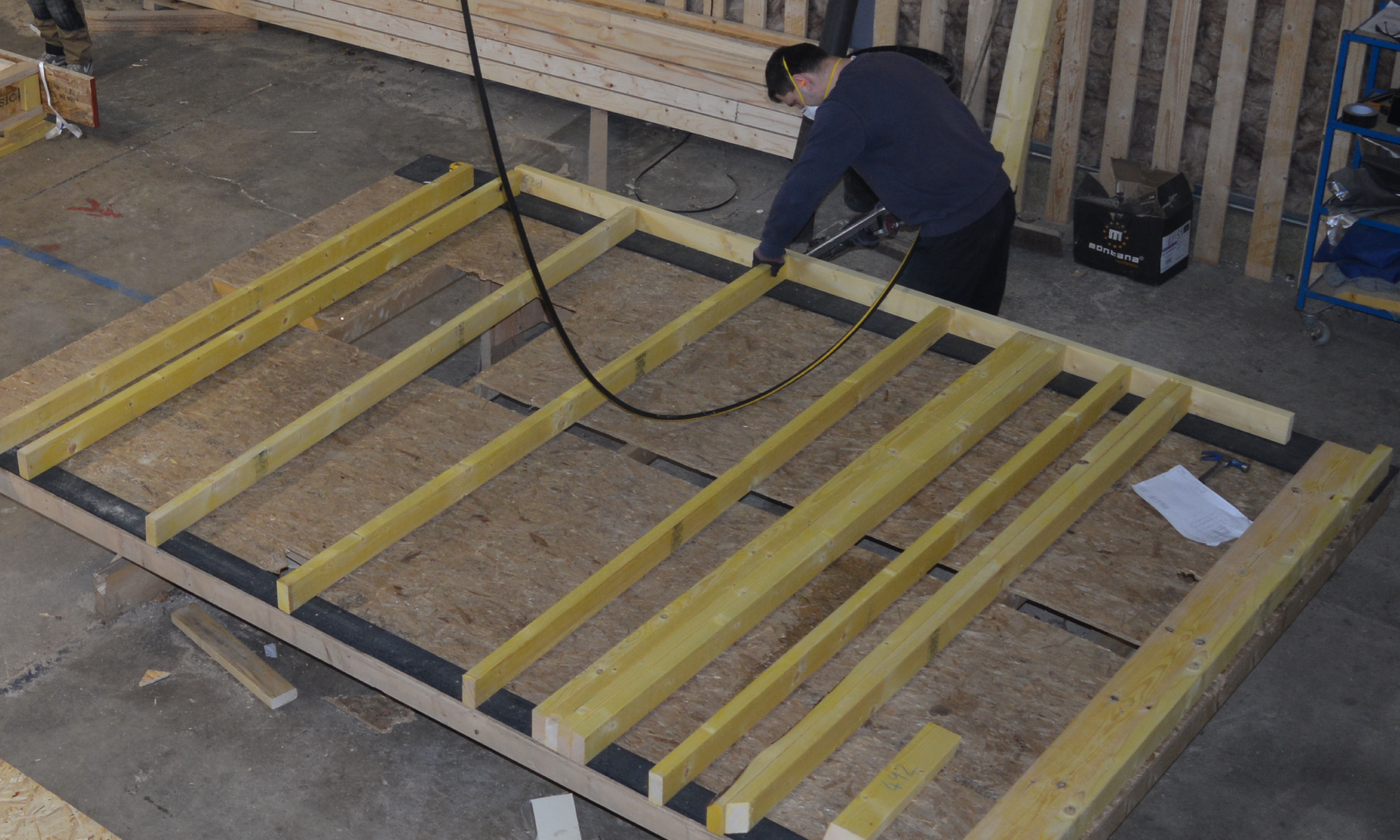 Learn about timber frame construction and open panels